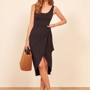 REFORMATION Kaila dress in black (Medium)